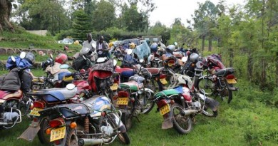 Bodaboda riders embraced by the county government