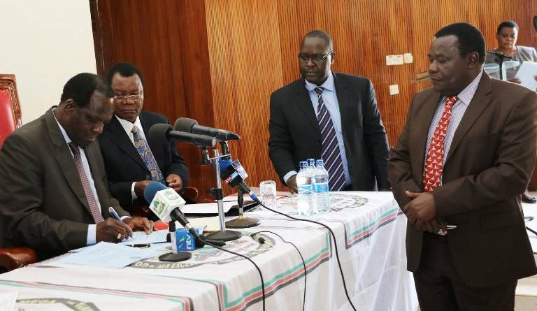GOVERNOR OPARANYA ASSENTS TO COUNTY ADMINISTRATIVE UNITS AND BOUNDARIES (AMENDMENT) ACT 2016